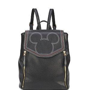 Bolsa Mochila Mickey Mouse  BMK78457 Preta