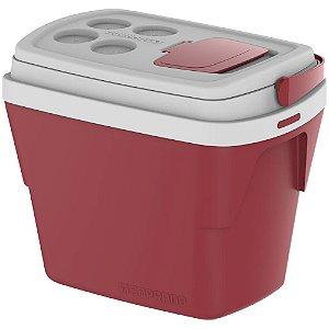 Caixa Térmica Tropica Soprano 28 Litros - Vermelho