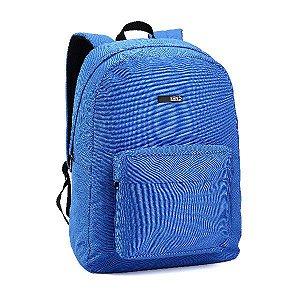Mochila Notebook Denlex Linha Kend Bolso Frontal KM0753 Azul