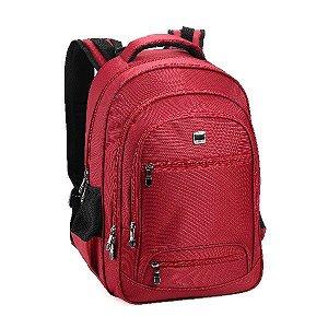 Mochila Notebook Denlex 03 bolsos Frontais  DL0776 Vermelha