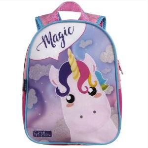 Mochila Infantil P Dermiwil Unicórnio Magic - 37375