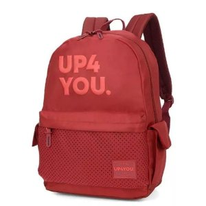Mochila Juvenil Para Notebook UP4YOU MJ48672UP - Vinho