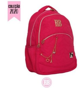 Mochila Escolar Rebecca Bonbon Notebook RB2037 - Rosa