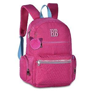 Mochila Escolar Rebecca Bonbon RB2061 - Rosa