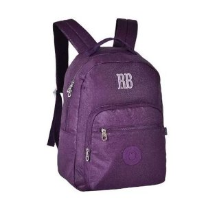 Mochila Escolar Rebecca Bonbon Notebook RB2079 - Roxa EAN 7908040422420