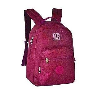 Mochila Escolar Rebecca Bonbon Notebook RB2079 - Rosa EAN 7908040422468