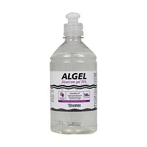 Álcool em gel 70% 500 ml- Algel
