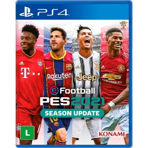 Jogo eFootball Pro Evolution Soccer 2021 Season Update PS4 - PES2021 - Mídia Física