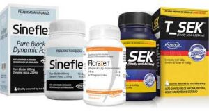 Combo 1 - Sineflex - Florazen - T_sek Power Supplements