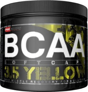 BCAA SoftCaps 3.5 Yellow Pro Corps