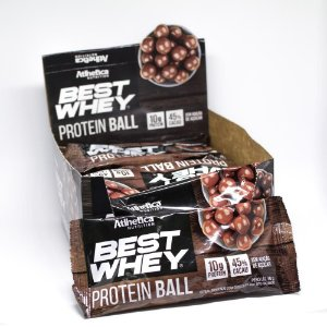 Best Whey Protein Ball 12un 50g cada Atlhetica Nutrition