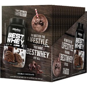 Best Whey Display 15un 35g Atlhetica Nutrition