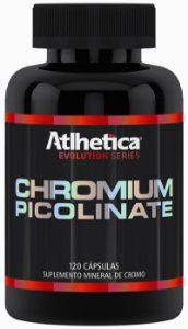 Chromium Picolinate Athletica Nutrition 120 Caps (Picolinato de Cromo)