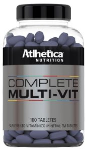 Complete Multi-Vit 100 Tabs Athética Nutrition