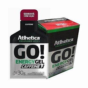 Go Energy Gel Caffeine 10un 30g Atlhetica Nutrition