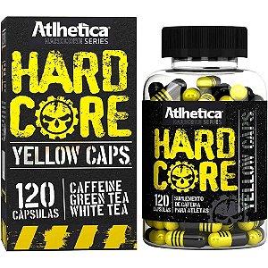 Hardcore Yellow Caps Atlhetica Nutrition 120 Cáps