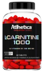 L-Carnitine 1000 60 Tabletes Atlhetica Evolution Series