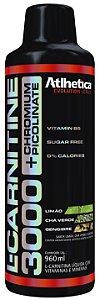 L-Carnitine 3000 C/ Picolinato de Cromo Atlhetica Nutrition 960ml