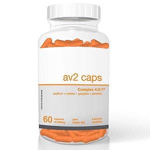 AV2 Caps 60 Cápsulas - Termogênico Emagrecedor