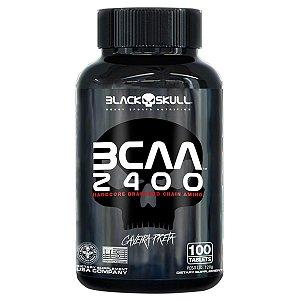 BCAA 2400 Caveira Preta Black Skull