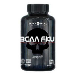 BCAA FKU Caveira Preta Black Skull USA