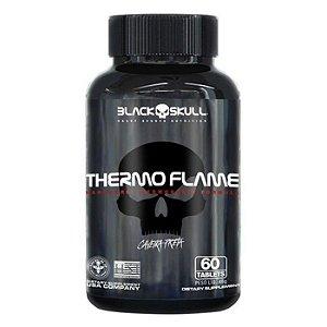 Thermo Flame Caveira Preta Black Skull USA