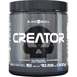 Creator Creatina Black Skull USA