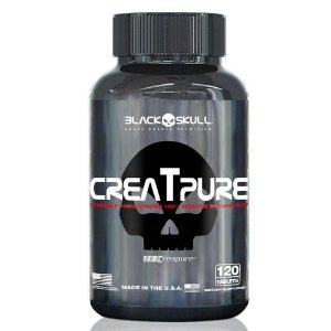 CreaTpure Black Skull USA 120 Cáps (Creatina)