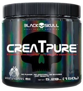 Creatpure Black Skull USA (Creatina Creapure)