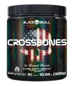 Crossbones Black Skull USA 300g