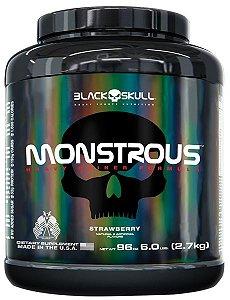 Monstrous Black Skull 2.7kg (6lb) - Hipercalórico