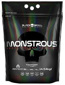Monstrous Black Skull 4.54kg (10lb) - Hipercalórico