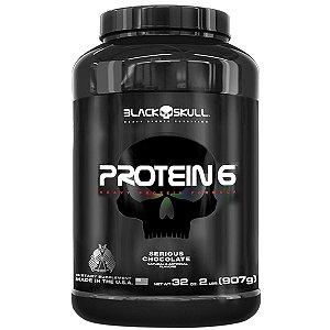 Protein 6 Black Skull 907g (2lb)