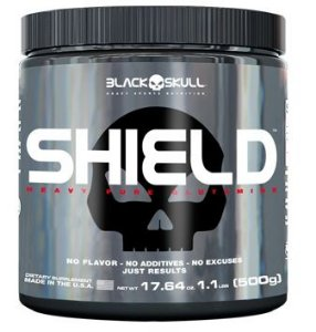 Shield Black Skull USA (Glutamina)