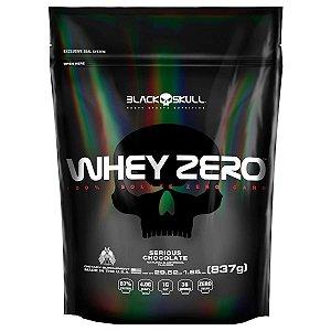 Whey ZERO Black Skull USA Refil 837g