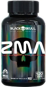 ZMA 120 Cáps Black Skull USA