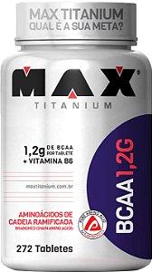 BCAA 1.2g 272 Tabletes Max Titanium