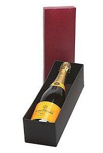 Kit Champanhe Veuve Clicquot  750ml Caixa Vermelha
