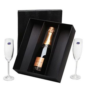 Kit Espumante Chandon Brut 750ml com Taças Cristal