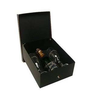 Kit Espumante Salton Brut 375ml com 2 Taças