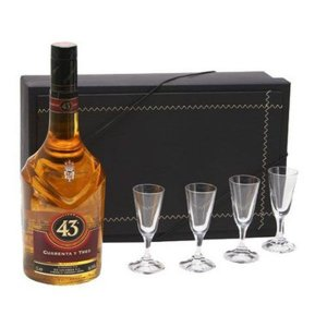 Kit Licor 43 700ml  com Cálices Cristal