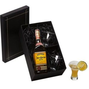 Kit Tequila José Cuervo Especial 750ml com 2 Copos