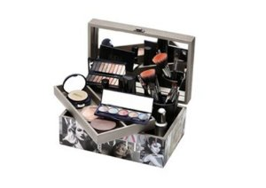 Caixa para Maquiagem MDF decorada com Espelho