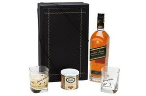 Kit Whisky Green Label Castanha