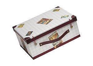 Caixa Modelo Maleta para Kits ou Cestas de Natal