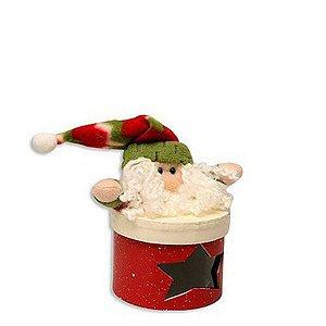 Caixinha de Natal Papai Noel Divertido