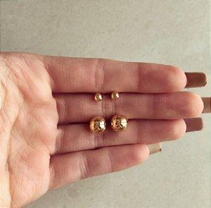 Kit Brinco de Bolinhas Dourado