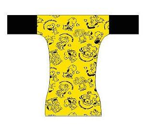 Fralda dia a dia - Snoopy Amarelo
