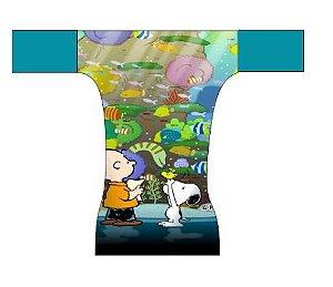 Fralda dia a dia - Snoopy Aquário