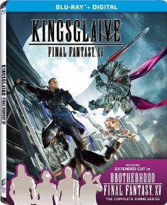 Blu-Ray - Kingsglaive: Final Fantasy XV (Limited Edition Steel Book)